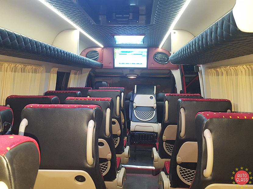 Полное преображение автомобиля вас ждёт от компании «Auto-glass», если заказать переоборудование микроавтобусов в Бердичеве